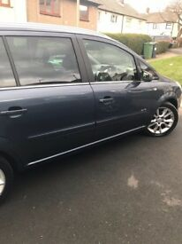 VAUXHALL ZAFIRA ELITE CDTI 2008*AUTOMATIC LEATHER SEATS..*LOW MILAGE