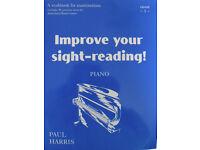 Four Grade 1 piano books
