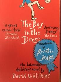 The Boy in the Dress by David Walliams 50p