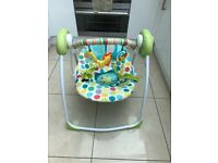Chad Valley 6 speed swing chair