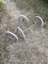 Pram wheels