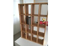 Habitat oak cd shelves