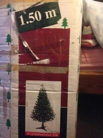 Christmas tree, very good condition, 1.5m
