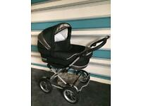 Emmaljunga Black/Grey Pram 2in1