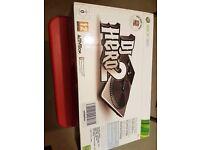 Xbox 360 DJ Hero 2 Turntable Bundle with DJ HERO AND DJ HERO 2 Games included