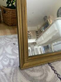 Free local delivery GOLD MIRROR