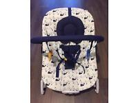 Mothercare musical & vibrate whale bay bouncer