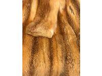 Russian Red Fox full length coat