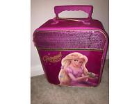 Rapunzel pink girls suitcase
