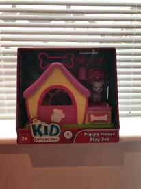 Kid connection puppy house play set
