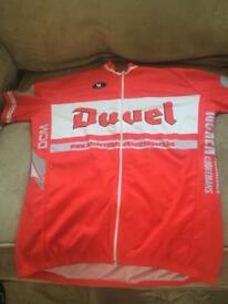 Duvet cycling jersey
