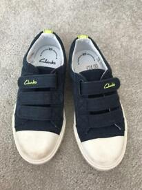Boys Clarke's shoes. New