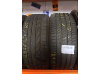 235/45/18 Part worn tyres, Great treads, Most makes & sizes, Low prices !! Call Rutherglen Tyres