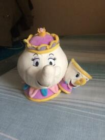Disney Mrs Potts and Chip