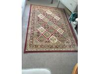 Red patterned rug for sale