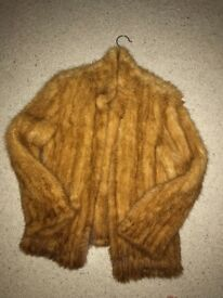 Browns designer coat hardly worn in perfect condition.