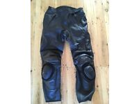 Motorcycle helmet, boots, jacket and trousers, all excellent condition. Can be sold separately