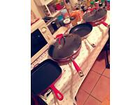 Woks and pans Mark and Spencer collection
