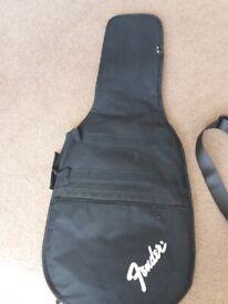 Fender guitar full size bag