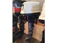 14HP SUZUKI OUTBOARD BOAT ENGINE LONG SHAFT SPARES OR REPAIR