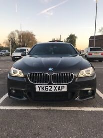 BMW 520d Grey 2012 5 Door Saloon