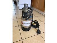 Grindex submersible water pump 110v