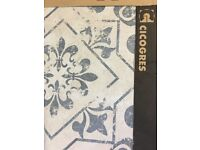 CICOGRES STENCILLED FLOOR TILES X 10