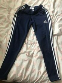 adidas fitted training trousers
