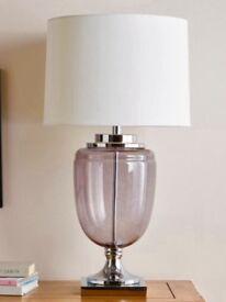 Stunning oversized lamps