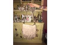 Pink H&M Tassel Bag