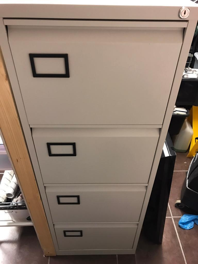 Office 4 draw filing cabinet