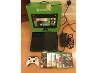 Xbox one console, boxed with 5 games - bargain £179
