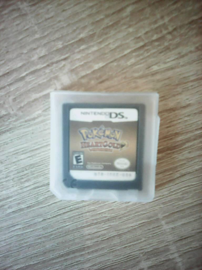 Pokemon heartgold nintendo ds