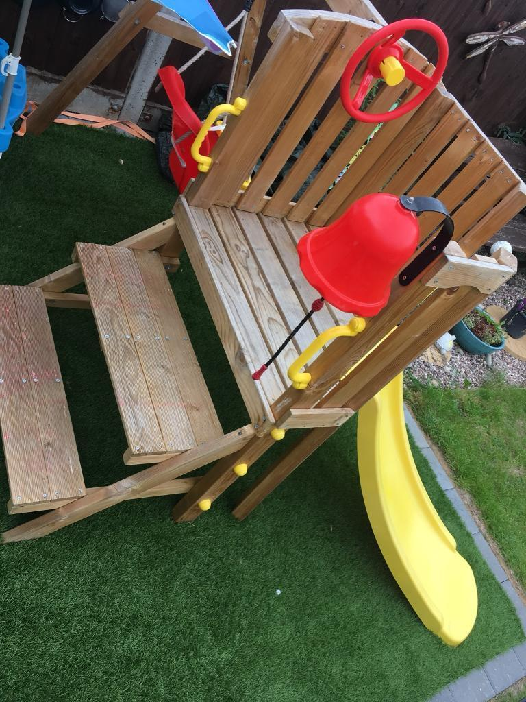 Plum Toddler Tower Wooden Play Set In Netley Abbey Hampshire Gumtree