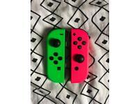 Nintendo switch joy cons