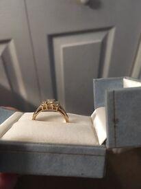 Beautiful Gold & Diamond Ring