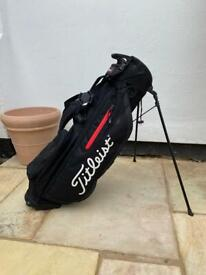Titleist Players 4 Golf Stand Bag Black/Red