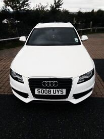 SOLD pending payment collection Audi A4 Avant S-Line Tdi Ibis White 2008 plate 72k