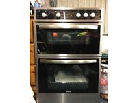 Double oven/grill new never been used