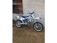 Yamaha WR400 with loads of extras