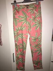 Motel Rocks Palm leaf Jean