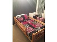 Solid Pine Single Bed