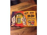 M AND Ms TRAVEL GAME UNUSED