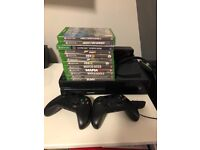Xbox One 2 x Bluetooth controller 12 Games