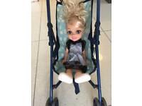 Child's toy stroller