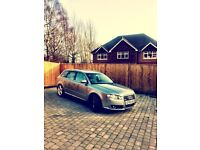 Audi A4 Avant S-Line TDi. Fantastic, reliable with a sporty shift in its gear.