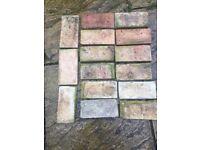Reclaimed Victorian Floor Bricks for Sale!