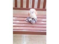Stone Owl Statue..