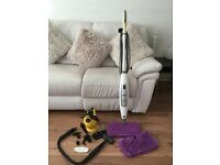 Shark steam cleaner and Handheld Bosum steam cleaner