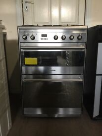 Smeg dual fuel gas cooker 60cm SUK62MX8 FSD double oven 3 months warranty free local delivery!!!!!!